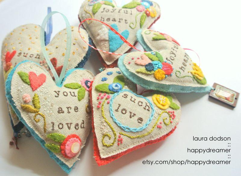 1-heart postcard